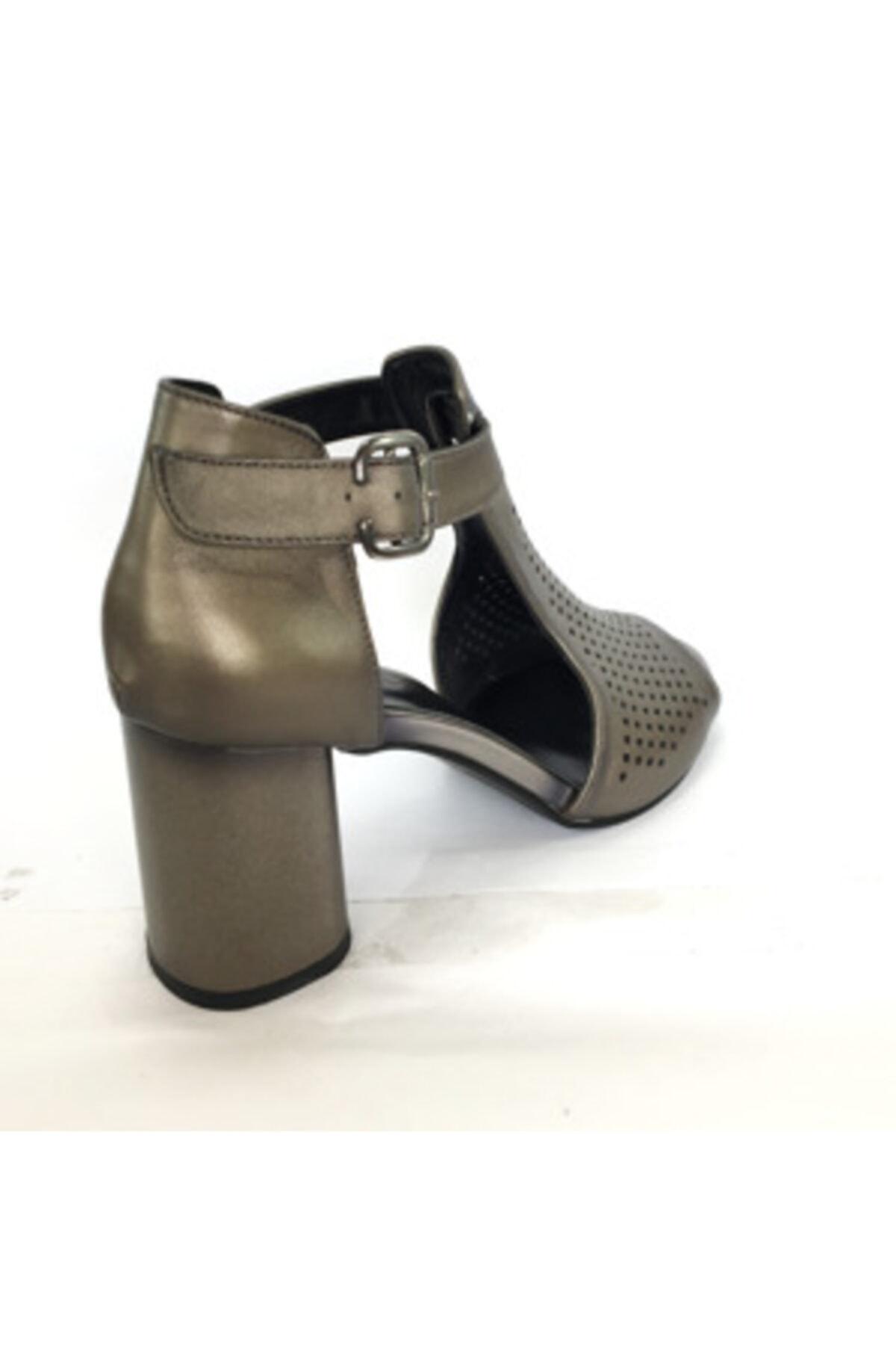 Maje Kadın Vizon Topuklu Sandalet 2