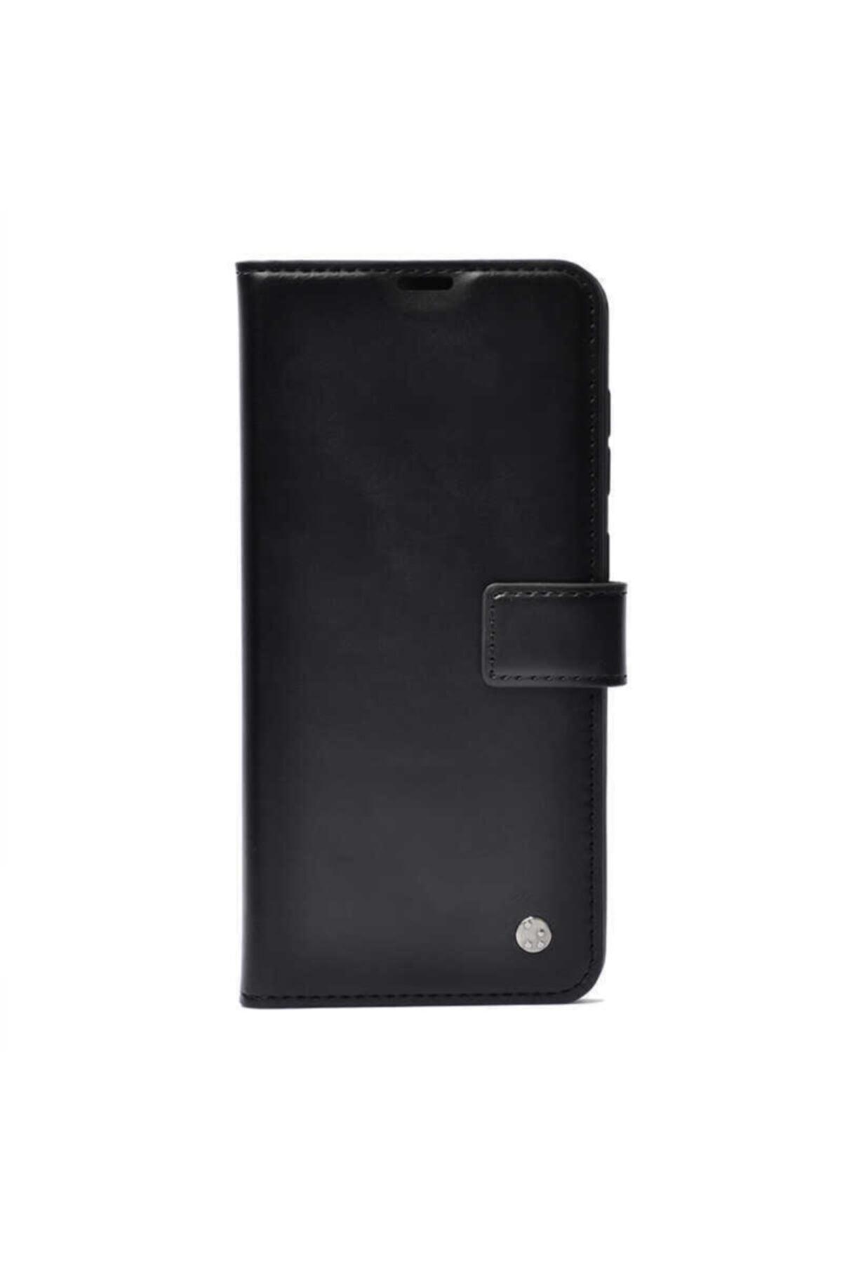 Xiaomi Redmi Note 9 Pro Kapaklı Cüzdanlı Kılıf Siyah 1