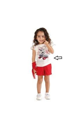 Best Kız Çocuk Dantel Kollu Patenli Bluz