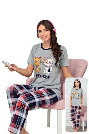 walkie Kitty Pijama Takımı
