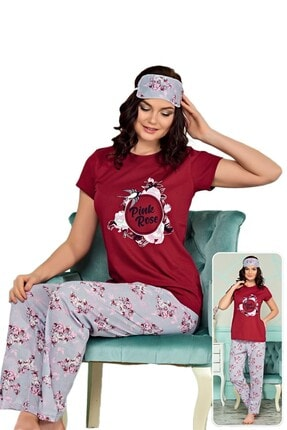 walkie Roza Pijama Takımı