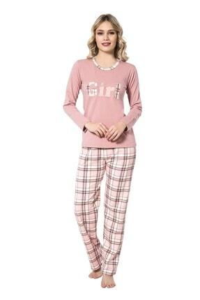 walkie Girl Gülkurusu Pijama Takımı