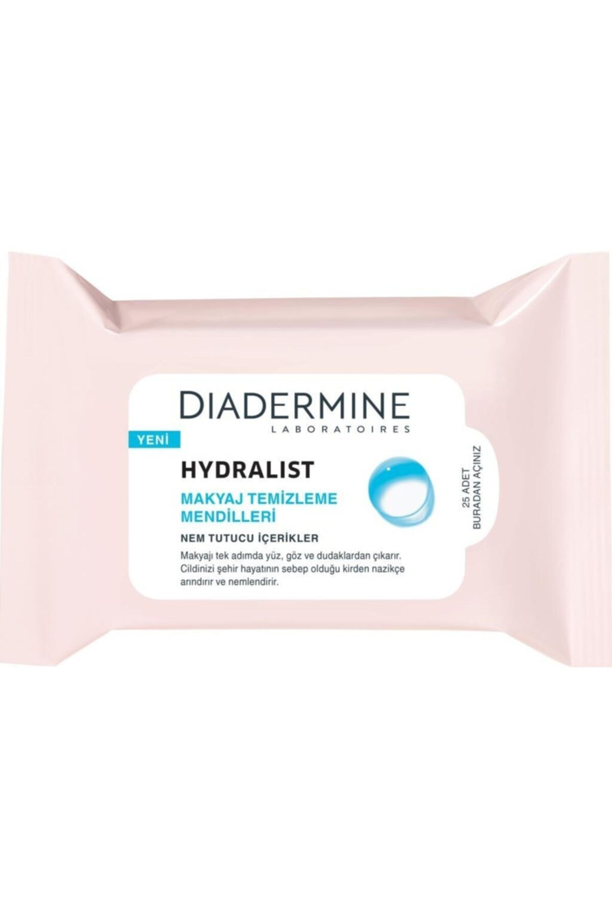 Diadermine Hydralist Makyaj Temizleme Mendilleri 1