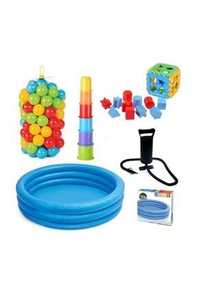 Intex İntex Havuz Bultak Top Pompa ve Kule Set