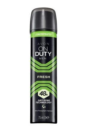 AVON On Duty Men Fresh Erkek Deodorant 75 Ml.