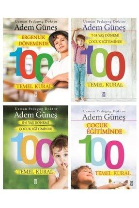 Timaş Yayınları Pedagog Adem Güneş Çocuk Eğitiminde 100 Temel Kural 4 Kitap Set