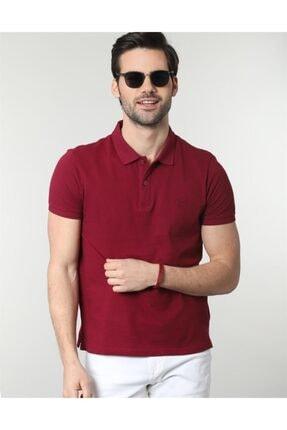 Tudors Kadın Kırmızı Polo Yaka Bordo Erkek T-shirt