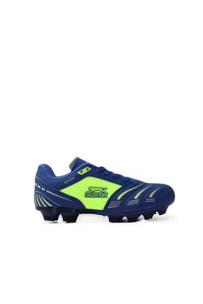 Slazenger Major Kr Futbol Çocuk Krampon Ayakkabı Saks Mavi