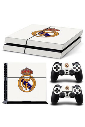 KT Decor Real Madrid Classic Playstation Fat Kasa Sticker Kaplama