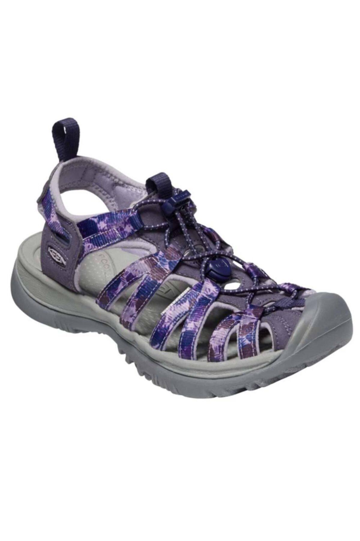 Keen Kadın Gri Mor Whisper Spor Sandalet 1