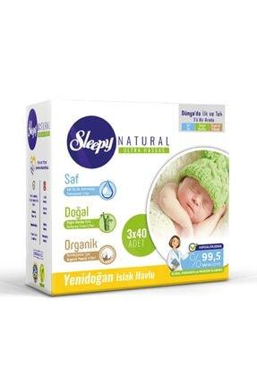 Sleepy Yeni Doğan 3lü Islak Havlu