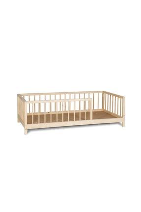 dk yapı Montessori Yatak Çatısız Boyasız