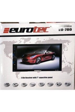 Alpine Eurotec Eu-780 7ınc Usb/sd/bt Double Oto Teyp+kamera Hediyeli