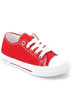Kinetix Kız Çocuk Kırmızı  Denni Sneaker Spor Ayakkabı