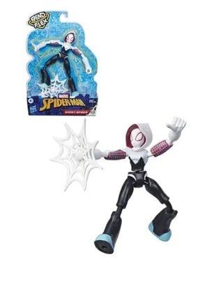 Hasbro Spiderman Bend Flex Ghost Spider Figür E7688