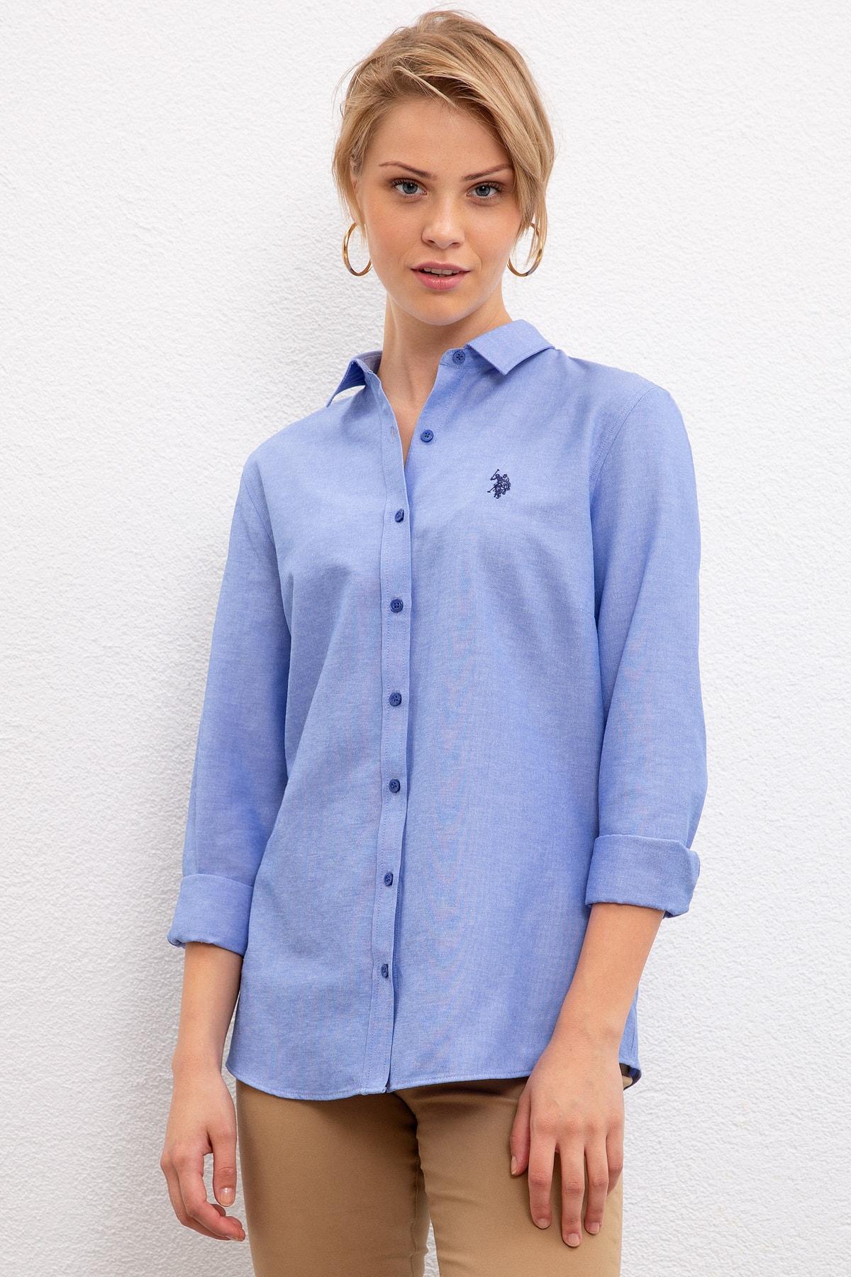 U.S. Polo Assn. Kadın Gömlek G082GL004.000.1177173 1