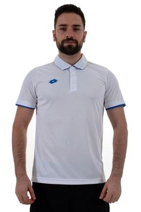 Lotto Polo T-shirt Erkek Beyaz/saks Mavi-ray Polo Camp Pl-r8983