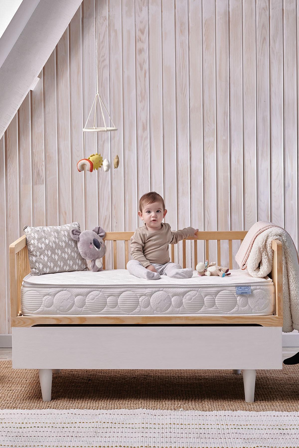 Yataş Bedding Milky Comfy Pocket Pedli Yaylı Yatak