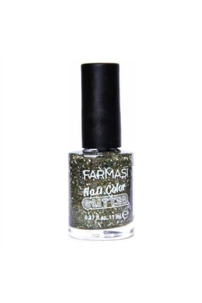Farmasi Nail Color Glitter Greeny Glow 11 ml