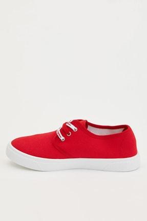 DeFacto Kadın Kırmızı Bağcıklı Sneakers Ayakkabı R3460AZ.20SP.RD2