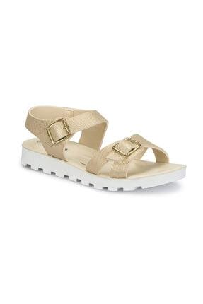 Polaris 81.311703.Z Altın Kadın Sandalet 100313919