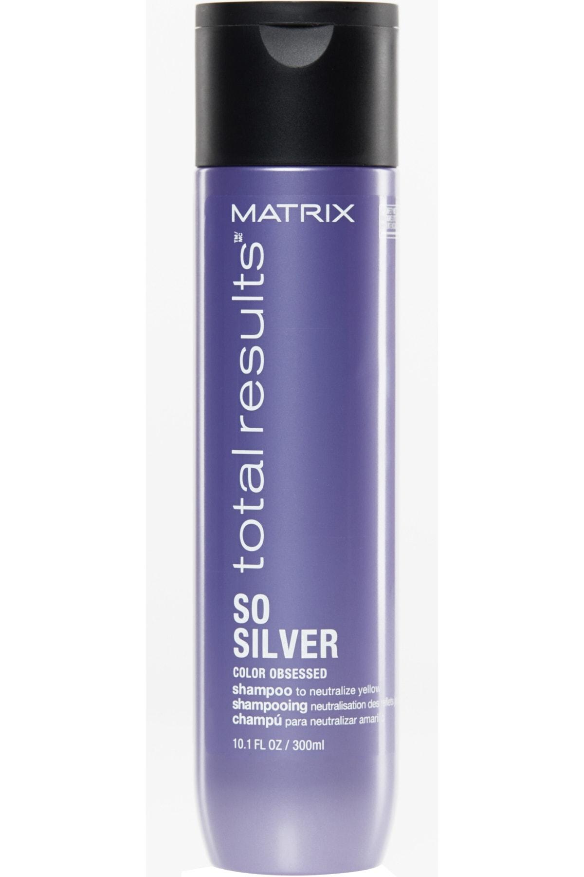 Matrix So Silver Gri, Platin ve Beyaz Saçlar için Renk Koruyucu Mor Şampuan 300 ml