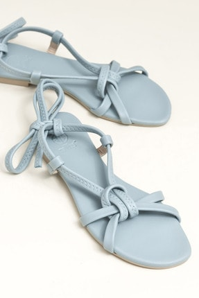 Elle Shoes Ina Mavi Kadın  Sandalet 20YDS54131