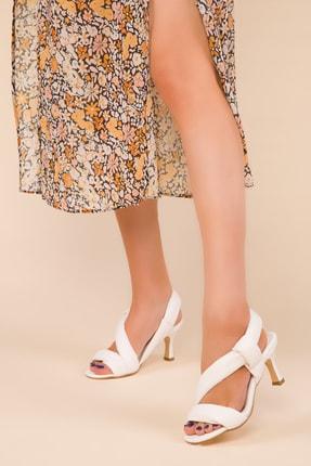 SOHO Beyaz Kadın Klasik Topuklu Ayakkabı 15124