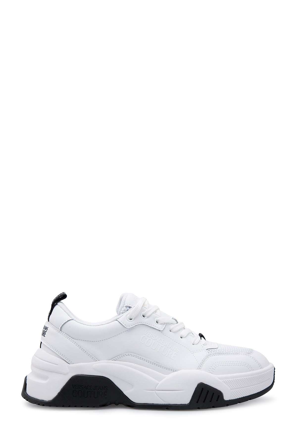 VERSACE JEANS COUTURE Erkek Beyaz Casual  Ayakkabı E0yvbsf6 71542 003 1