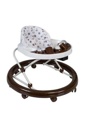 Baby Home Es-aras 311 Ayarlı Yuvarlak Yürüteç Bebek Yürüteci