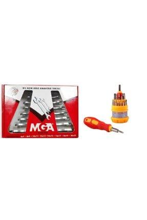 MGA 31 Parça Saatçi Tornavida Seti Ve 8 Parça Açık Ağız Anahtar Takımı