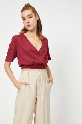 Koton Kadın Bordo Bluz 0YAL68026IW