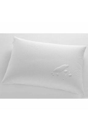 Lavinya Beyaz Pamuklu Sıvı Geçirmez Yastık Alezi