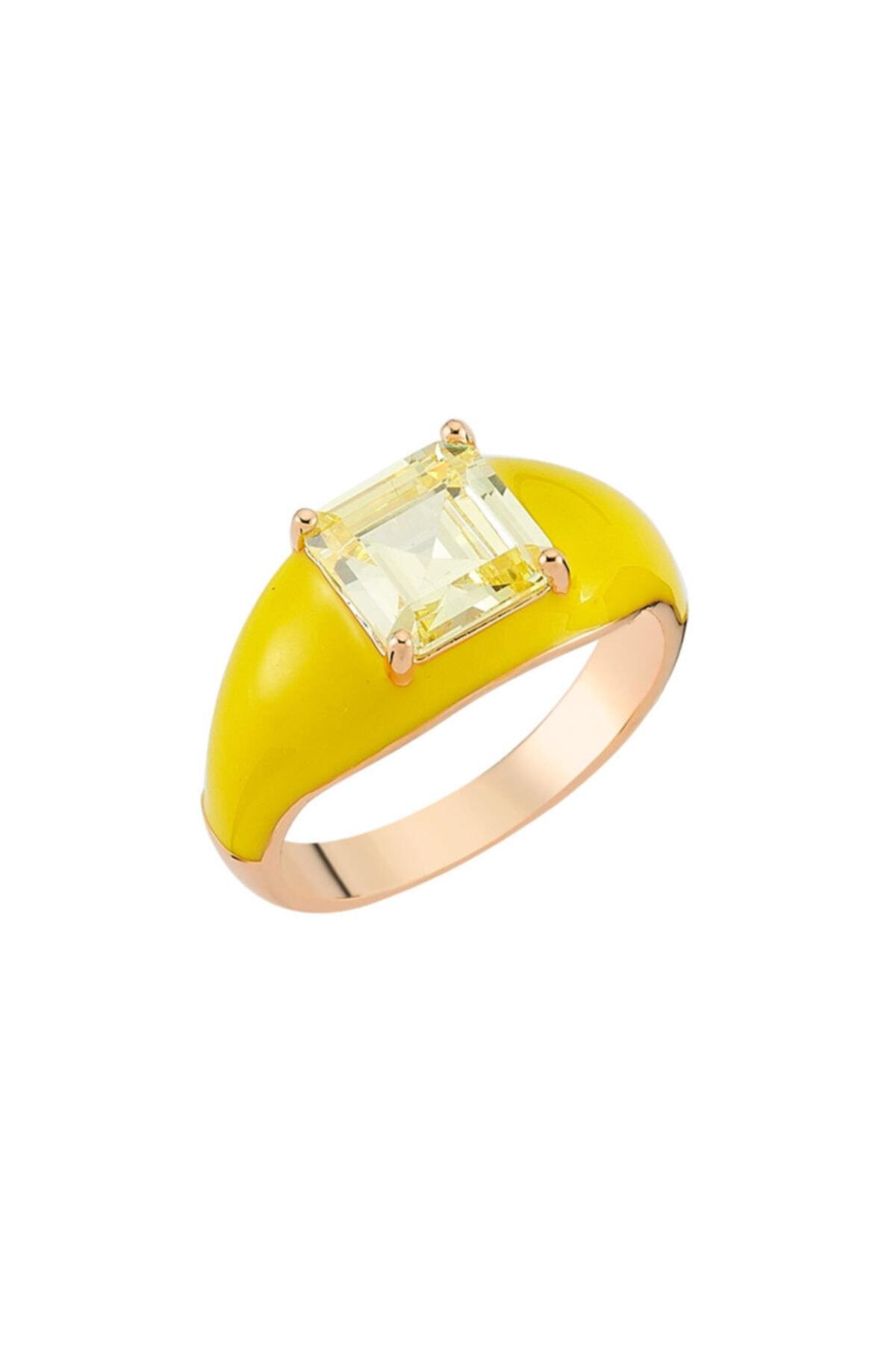 Luzdemia H. Yellowish Yüzük 925 1