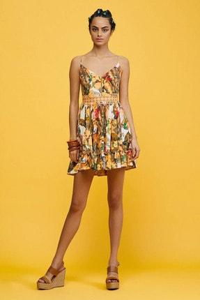 adL Kadın Pembe Dantel Detaylı Elbise 124C1828000171