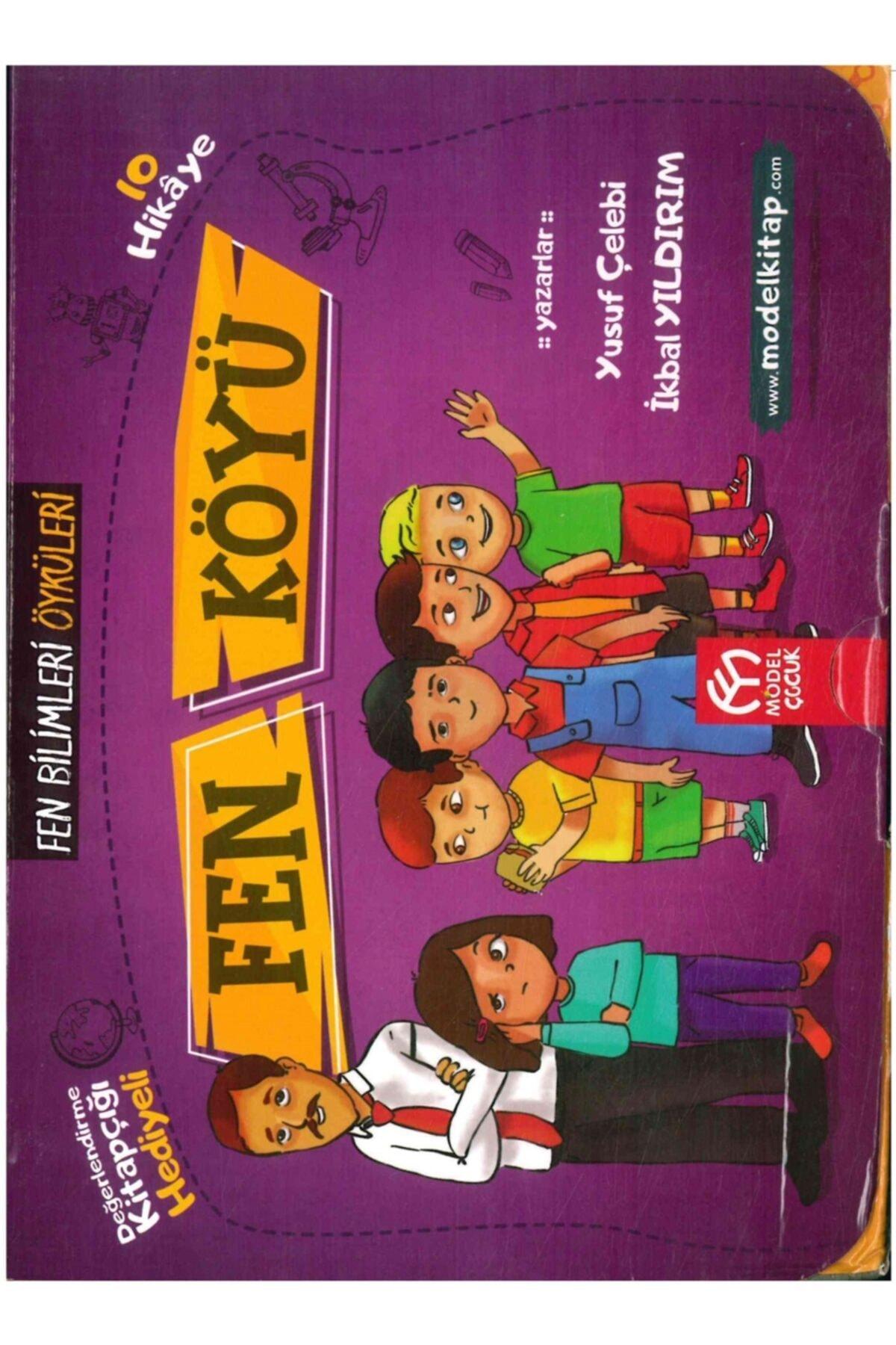 Model Eğitim Yayınları Model Çocuk 3. Ve 4. Sınıf Fen Köyü Hikaye Seti 10 Kitap 1