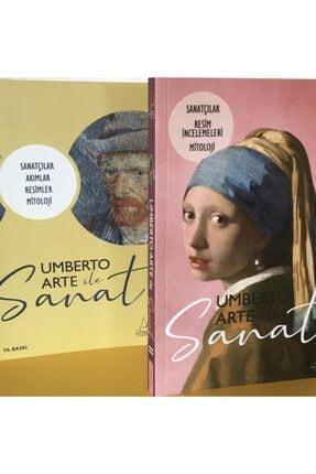 Destek Yayınları Umberto Arte Ile Sanat 2 Kitap Set