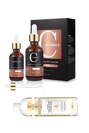 Pure Vitamin C 60 ml + Hyaluronic Acid  30 ml + Kolejen Tonikm 200 ml 86124582369