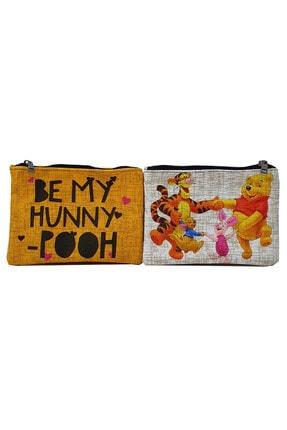 MODAZEY Winnie The Pooh Desenli Düzenleyici & Makyaj Çantası Seti