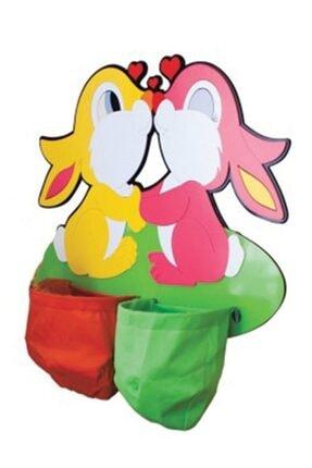 Adalinhome Anaokulu Gereçleri Galoşluk Tavşan