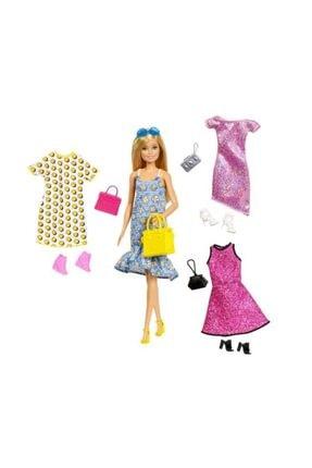 Barbie Kıyafet Kombinleri Oyun Seti Gdj40