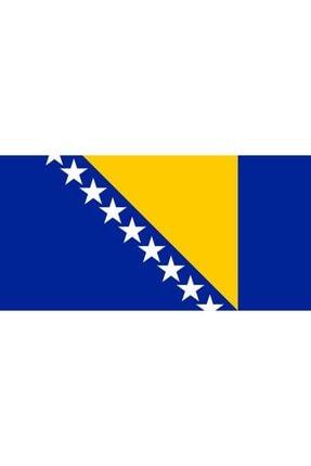 Vatan Bayrak Masa Üstü Bosna Hersek Bayrağı 15x23cm - Sadece Bayrak
