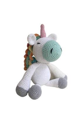 İlmek Bebek Amigurumi El Örgüsü Oyuncak Unicorn 2