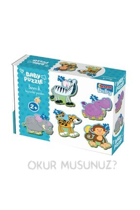 Debir Yayınları Diy Toy Benim Ilk Hayvanlar Puzzlem (baby Puzzle Hayvan Puzzle 12 Ay