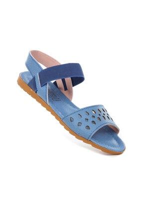 Bagon Kadın Mavi Bigy 057 Yazlık Sandalet