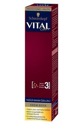 Vital Colors Krem Saç Boyası 8-1 Küllü Açık Kumral - 60 ml