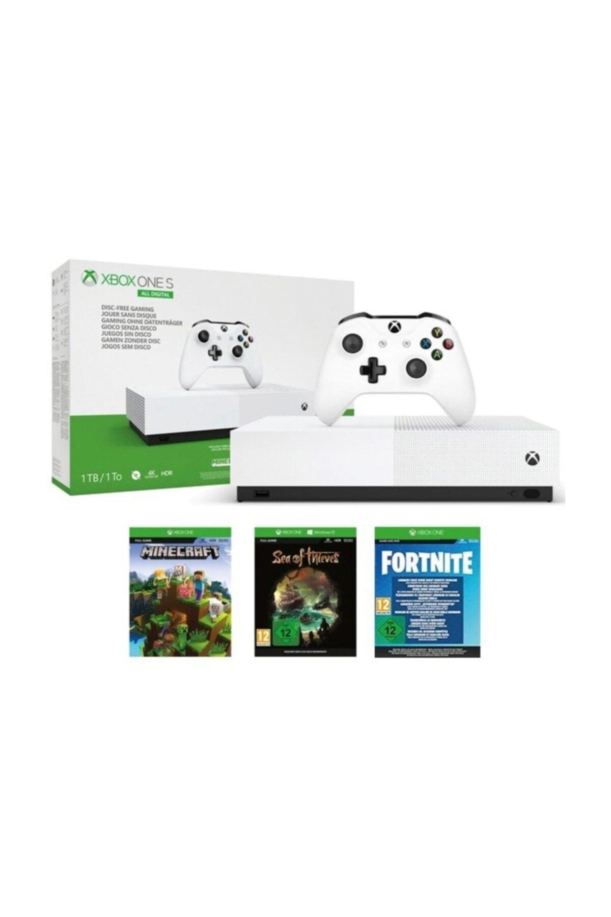 MICROSOFT Xbox One S 1Tb All Digital 3 Oyun + 1 Kol 1