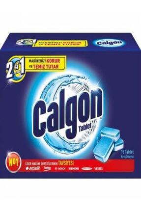 Calgon Çamaşır Makinesi Kireç Önleyici Tablet 15'lix2