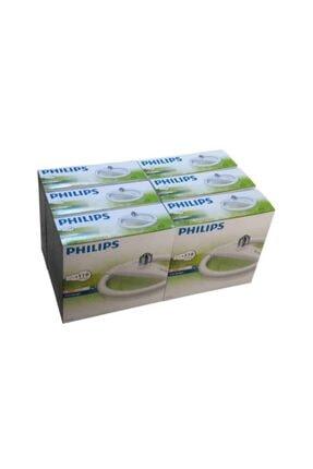Philips Ev Aydınlatmaları Beyaz 6 Adet Philips Circular 24 W.simit E27 Duylu Beyaz Floresan Ampul