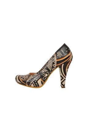 Dogo Tribal Topuklu Kadın Ayakkabı